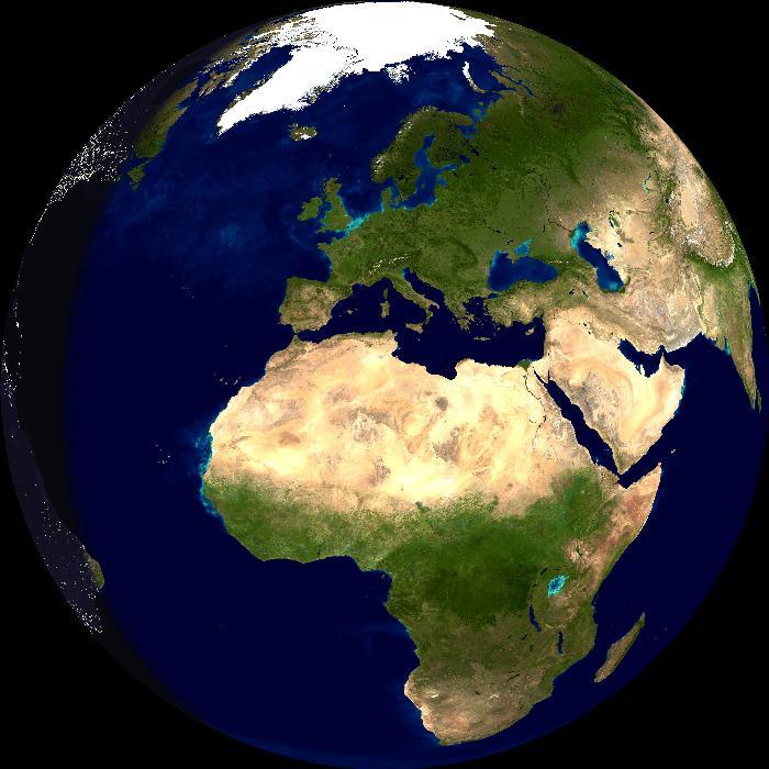 US Day-Night Globe